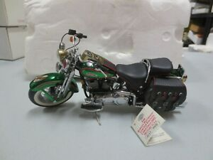 Franklin Mint 1/10 Diecast 2001 HARLEY DAVIDSON Limited Edition Motorcycle B11ZY