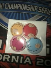 """Complete Set of Scapegoat Token 1"""" pins (4-pin set) Yu-Gi-Oh! Yugioh sunny go"""