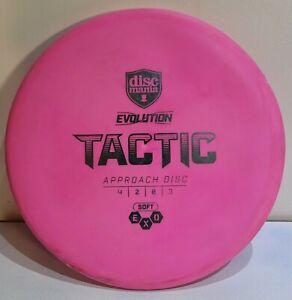 (Broke-in) Evolution Exo Soft Tactic 173g Putter Discmania Discs Golf Disc
