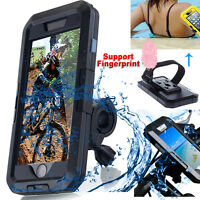Waterproof Motorcycle Bike Bicycle Handlebar Mount Holder Case iPhone 7/8/6s/6+