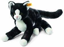 Steiff Mimmi Black+White Cat Childrens Soft Toy Christmas Gift Idea, 099366