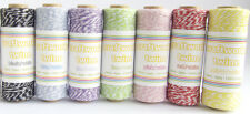 Bakers Twine - 7 Rolls Assorted Colours x 100m each Colour