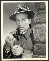 "1951 Lloyd Nolan ""Martin Kane Private Eye"" Official NBC TV 7x9 Photo Paperwork"