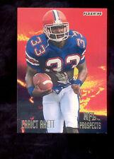 1994 Fleer ERRICT RHETT Tampa Bay Buccaneers NFL Prospects Rookie Insert Card