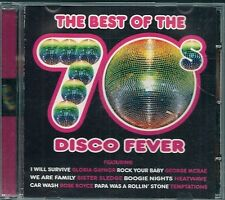 CD COMPIL 16 TITRES--THE BEST OF THE 70' DISCO FEVER--GAYNOR/MAR RAE-SLEDGE/TEX/