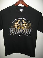 Camp Pendleton California 2012 Mud Run Obstacle Course Armed Services T Shirt M