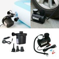 300PSI 12V Portable Electric Mini Tire Inflator Air For Car Car Auto Pump U1Z7