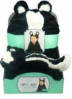 Little Miracles Animal Hugs Collection - Hooded Blanket w/ Plush, Skuck
