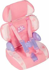 Casdon Baby Doll's Car Pink Booster Seat Girl Little Mummy Pretend Role Play Toy