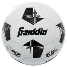 Franklin Sports Competition F-100 Size 4 Soccer Ball-Black/White New 2.99 Ship