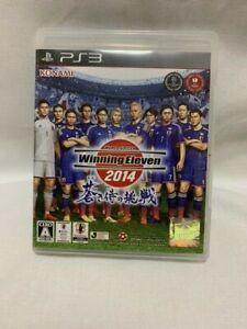 Winning Eleven 2014 Aoki Samurai no Chousen- PS3. JAPAN GAME PlayStation3