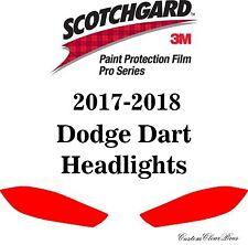 3M Scotchgard Paint Protection Film Pro Series Clear Bra 2017 2018 Dodge Dart