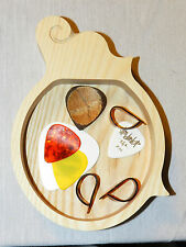 Guitar Pick Tray F5 Mandolin Style     Always know where your picks are.
