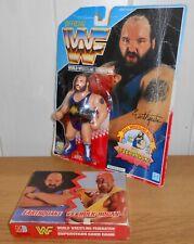 WWF/WWE - Earthquake - Hasbro - wrestling figure & Superstars card game