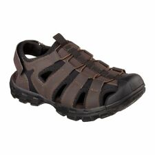 Skechers USA Mens Fisherman Sandal Chocolate 10 M US