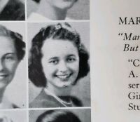 Noel Neill (Lois Lane) Senior High School Yearbook also Charles Schultz Peanuts