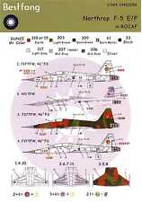 Bestfong Decals 1/144 NORTHROP F-5E/F TIGER II China Air Force