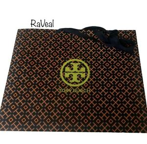Tory Burch Authentic Logo Empty Shopping Paper Gift Bag