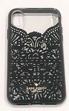 Kate Spade New York Flexible Hardshell Case for iPhone X & iPhone XS - Lace Cage