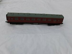 OO Mainline 937309 GWR 60 Collet coach BR Maroon Unboxed