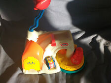 Little Tikes airport,car sliding ramp,  twirling train counting 1-4