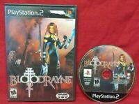 BloodRayne 2 Blood Rayne  - PS2 Game Sony PlayStation 2 Capcom