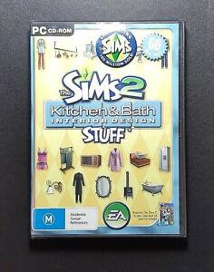 The Sims 2 Kitchen & Bath Interior Design Stuff Expansion *New / Seal - PC Game