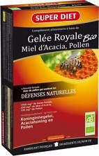 Super Diet Gelée Royale Bio 20 + 10 Ampoules(30)  x 15ml