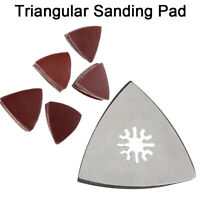 1pc 80mm Triangular Sanding Pad Oscillating Multi Tools Stainless Steel