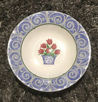 Vintage Victoria & Beale Dinnerware ENGLISH MANOR #9062 Soup Bowls Set of 4