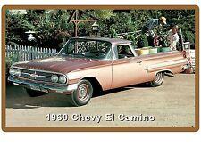 1960 Chevrolet El Camino  Refrigerator / Tool Box Magnet Man Cave
