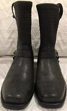 Frye Harness Studs Boots Black Youth Size 5