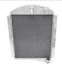 1941-1946 Chevy Pickup Truck Radiator,Polished Aluminum 3 Row Champion Radiator