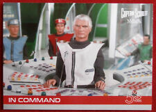 CAPTAIN SCARLET 50 YEARS - Card #02 - IN COMMAND - Unstoppable Cards 2017