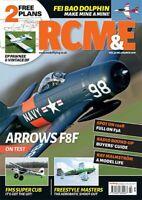 RCM&E MODEL AIRCRAFT MAGAZINE MARCH 2019 EP PAWNEE & VINTAGE DF PLANS ARROWS F8F