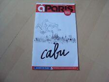 LE MAGAZINE DE LA VILLE  à PARIS - CABU (numéro spécial)