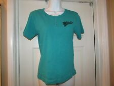 HARLEY-DAVIDSON WOMEN'S shirt with snap SAN DIEGO H-D ON BACK. SIZE SMALL NWT.