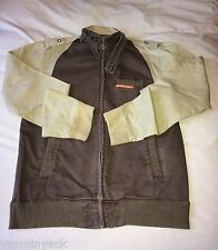 VTG DISTRESSED MENS SUPERDRY HARRINGTON JACKET - XL - RARE 2 TONE EDITION - VGC