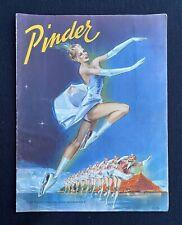 PINDER : Programme de Cirque 1953 / Illustration Ruddy