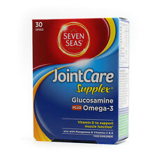 Seven Seas JointCare Supplex Glucosamine plus Omega-3 30 Capsules
