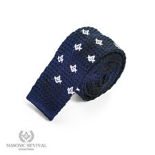 Handmade Masonic Necktie [Maglia Tie by Masonic Revival]