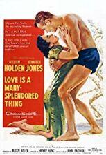 "16mm Feature ""LOVE IS A MANY SPLENDORED THING""1955 William HOLDEN Jennifer JONES"