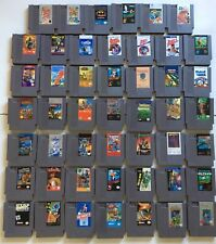 Nintendo NES Game Lot Of 48 Games All Tested And Work!!!