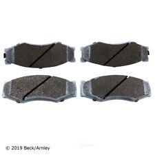 Disc Brake Pad Set Front Beck/Arnley 085-1246
