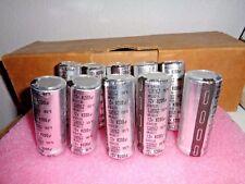 10 Nippon ChemCon  ALUMINUM ELECTROLYTIC Capacitor 12V 8200uF .0082 Farad Leaded