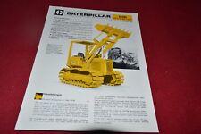 Caterpillar 931 LGP Crawler Loader Tractor Dealer's Brochure RPMD