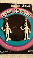 1996 New Cool Jewels Alien Glow-in-the-Dark earrings