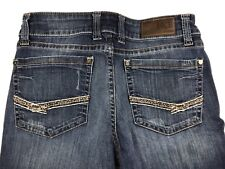 BKE Buckle Womens Scarlett Boot Cut Jeans Size 28Rx31 Dark Wash