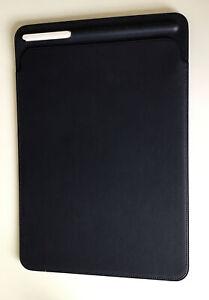 Genuine Apple Leather Sleeve Case MIDNIGHT BLUE 7th /8th Gen iPad Pro 10.5 Air 3