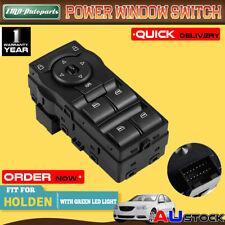 Master Window Switch for Holden Commodore VE 06-13 Illumination w/ Green Light
